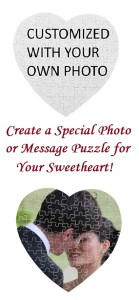 Heart shaped Puzzles