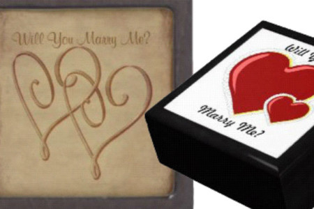 Unique Marriage Proposal Ideas: Will You Marry Me Treasure Boxes