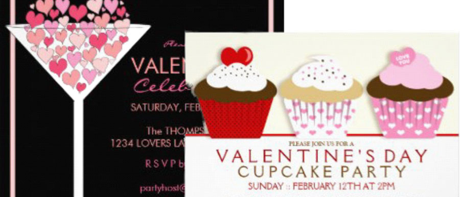 Valentine Cocktail Party Ideas Part - 42: Valentine Party Invitations