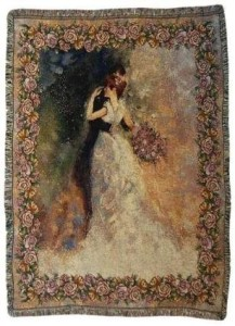 Romantic Tapestry Throw