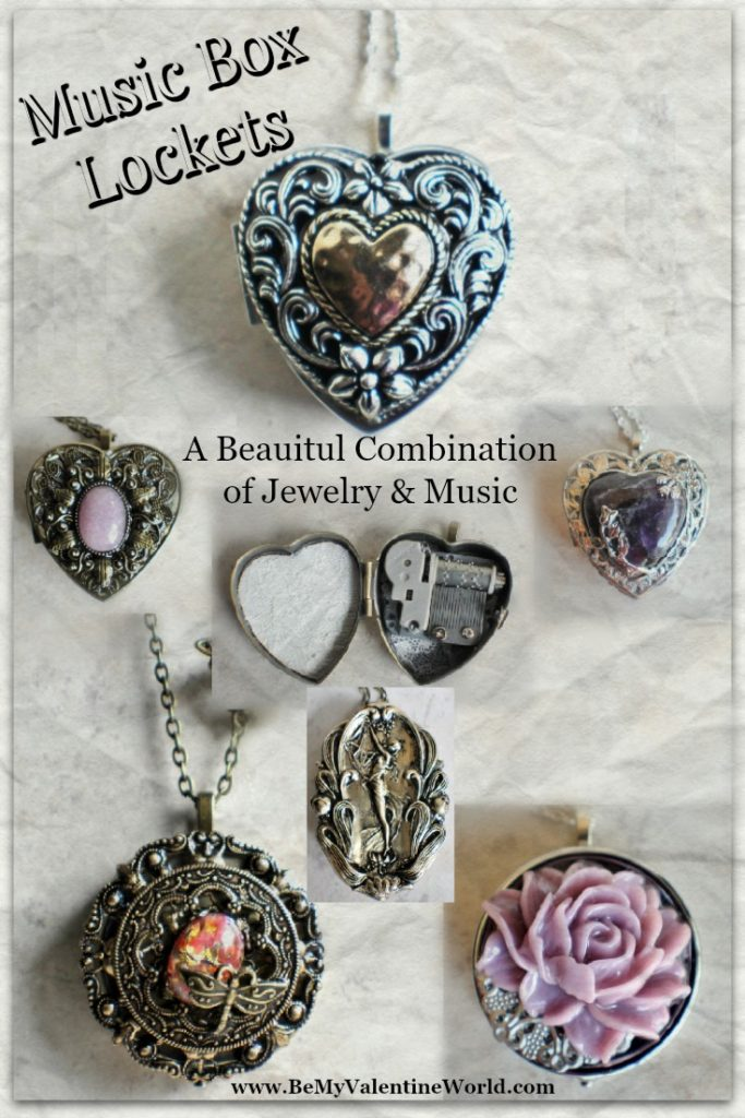Music Box Lockets