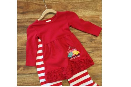 Handmade Valentine's Day Dresses and Outfits for Toddlers – Girls