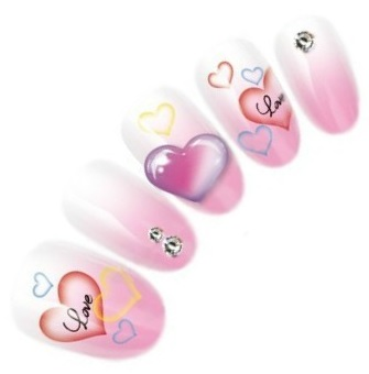 Valentine Nail Art Decals