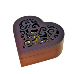 Wooden Heart Music Box