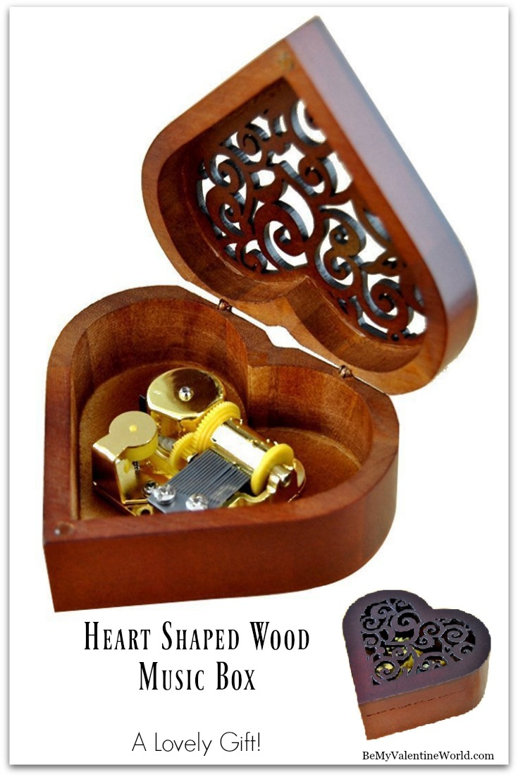 Heart Shaped Music Box