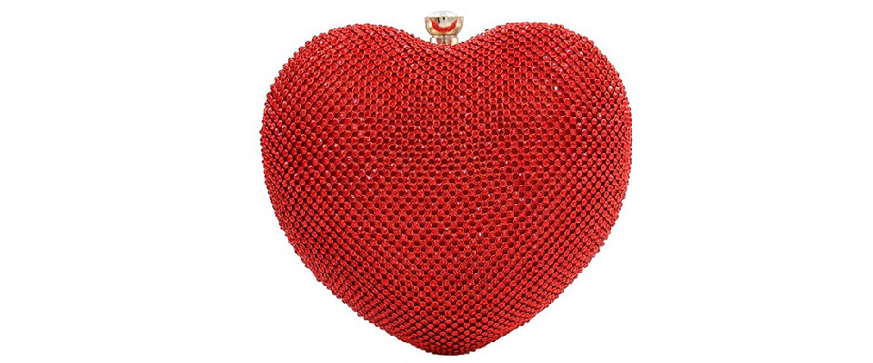 Heart Shaped Clutch Handbags